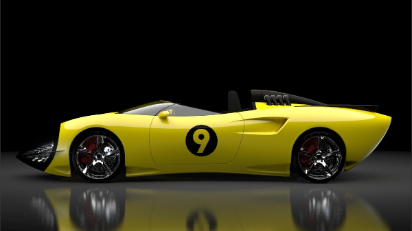 Lamborghini San Francisco >> Racer X Shooting Star by Mark Quessey at Coroflot.com