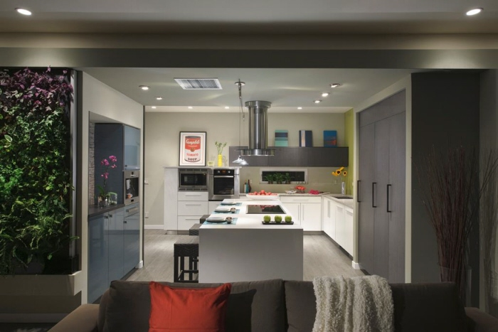 Leed platinum certified single family show home by heidi mendoza at for Certified kitchen and bath designer salary