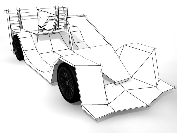 Ecrosser Lma Electric Race Car Development By Travis Winch At