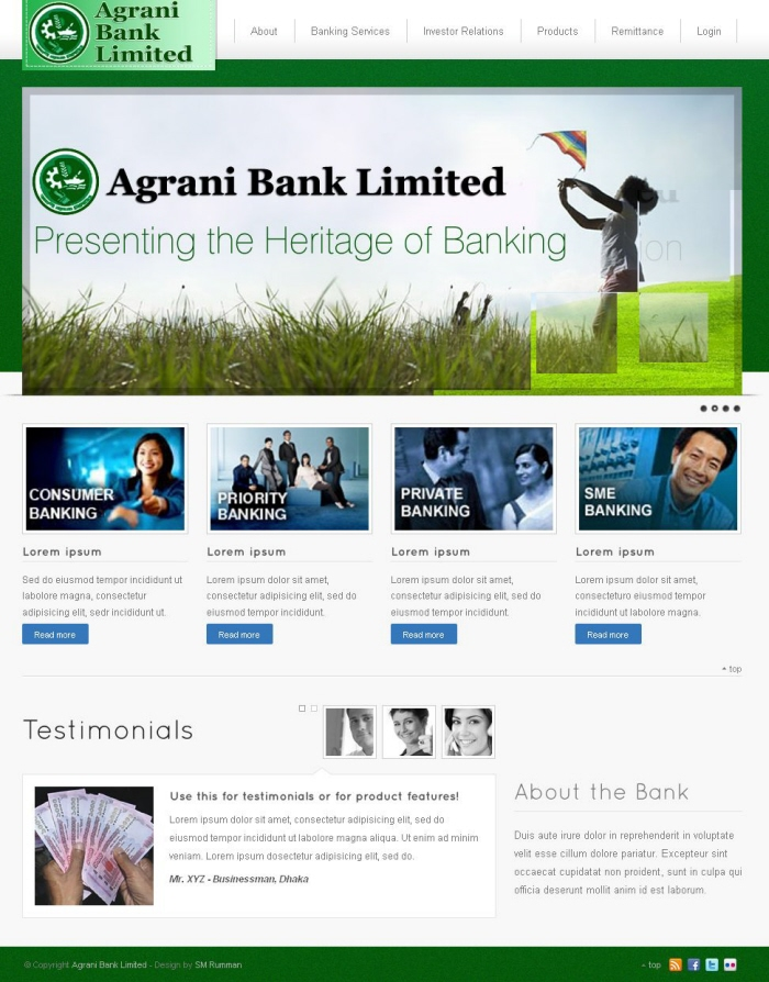 agrani bank About agrani bank agrani bank limited is a leading commercial bank with 922 outlets strategically located in almost all the commercial areas throughout bangladesh, overseas exchange houses and hundreds of overseas correspondents.