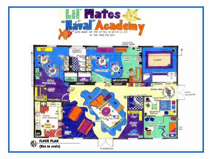 Daycare floor plan creator thefloors co for Site plan maker
