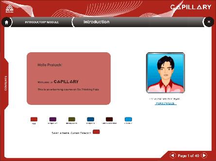 E-learning Project by Nandini Visvanathan at Coroflot.com