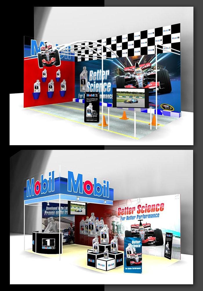 D Exhibition Stall Designer Job : D work by raheel mangrio at coroflot
