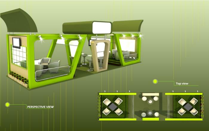 Modern Exhibition Stand Design : Exhibition stand design by jasim jawahir surrendered