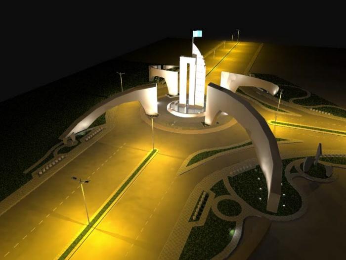 Exterior lighting visualization by light visualizer at coroflot