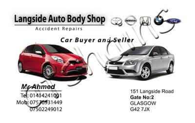 1st choice print ltd by afshain javaid at coroflot langside auto body shop business card colourmoves