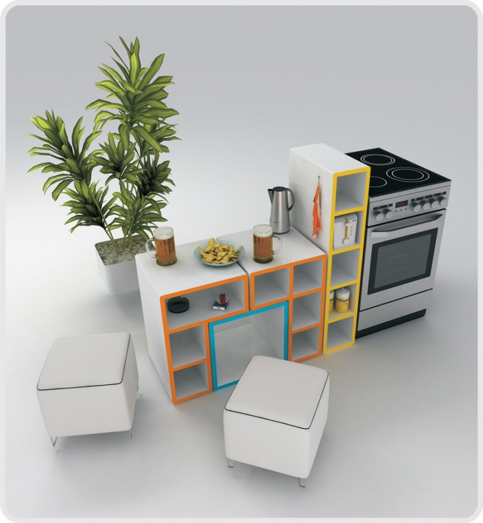 Attirant Tetris Furniture