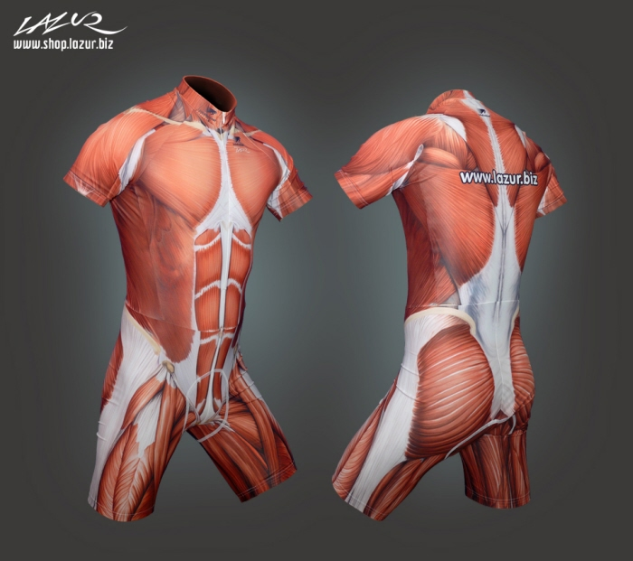 Muscle Skin Suit by Tomek Pietek at Coroflot.com