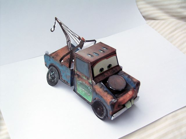 CARS paper toys by Paul Kouppas at Coroflot com