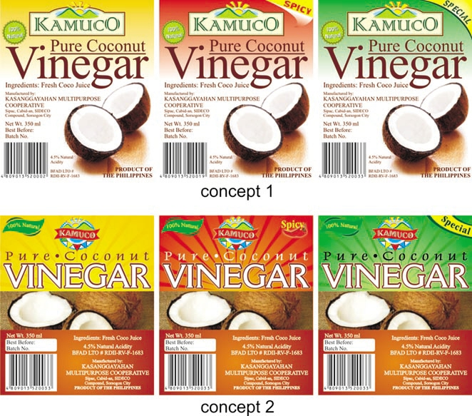 Food label designs by Rafael Santino Ramos at Coroflot com