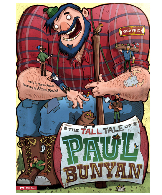 an introduction to the life of paul bunyan The paperback of the paul bunyan by  it's an adorable introduction for young children  his project of a life-sized (my son's size) paul bunyan came out.