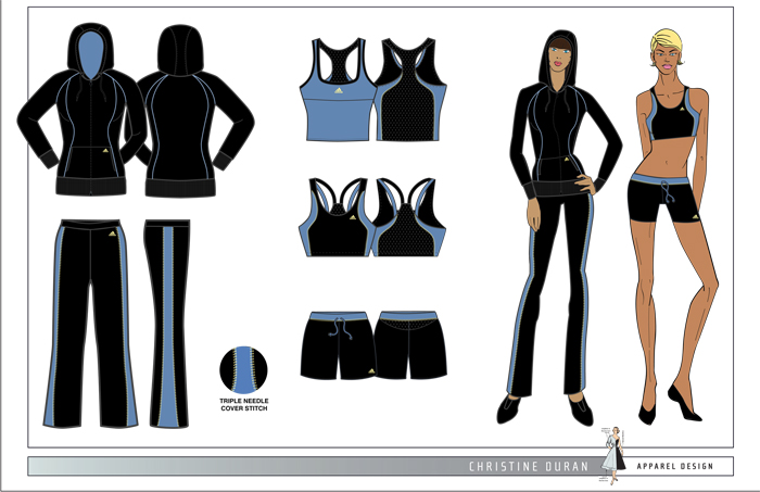Women S Active Wear By Christine Duran At Coroflot Com