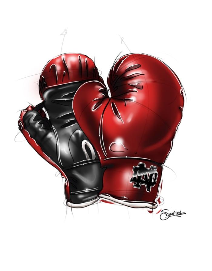 Картинки рисовать бокс перчатки