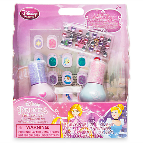 Disney Princess Nail Art Set by Judy Liu at Coroflot com