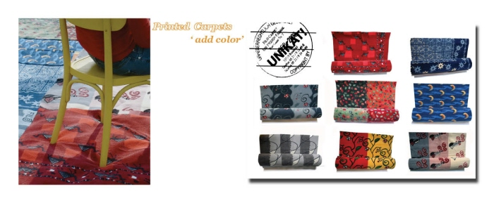 Textile Print Projects by Leonie Wunderlich at Coroflot.com
