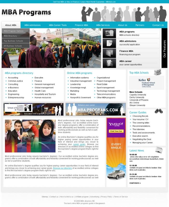 Web Design by Partha Sarker at Coroflot com