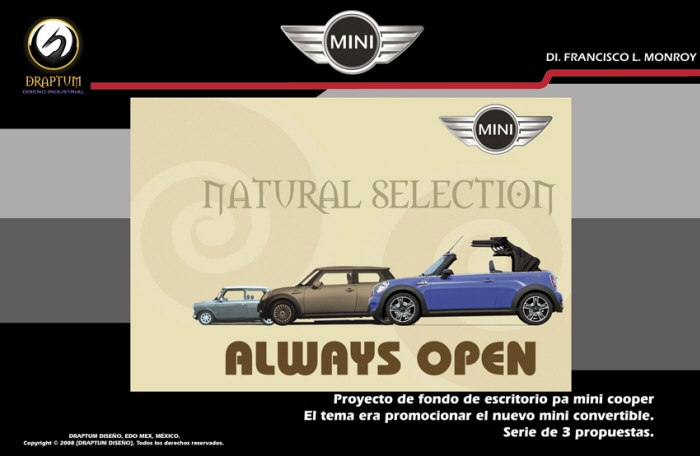 Mini Cooper Natural Selection Wallpapers To Promotion The New Under Slogan Always Open