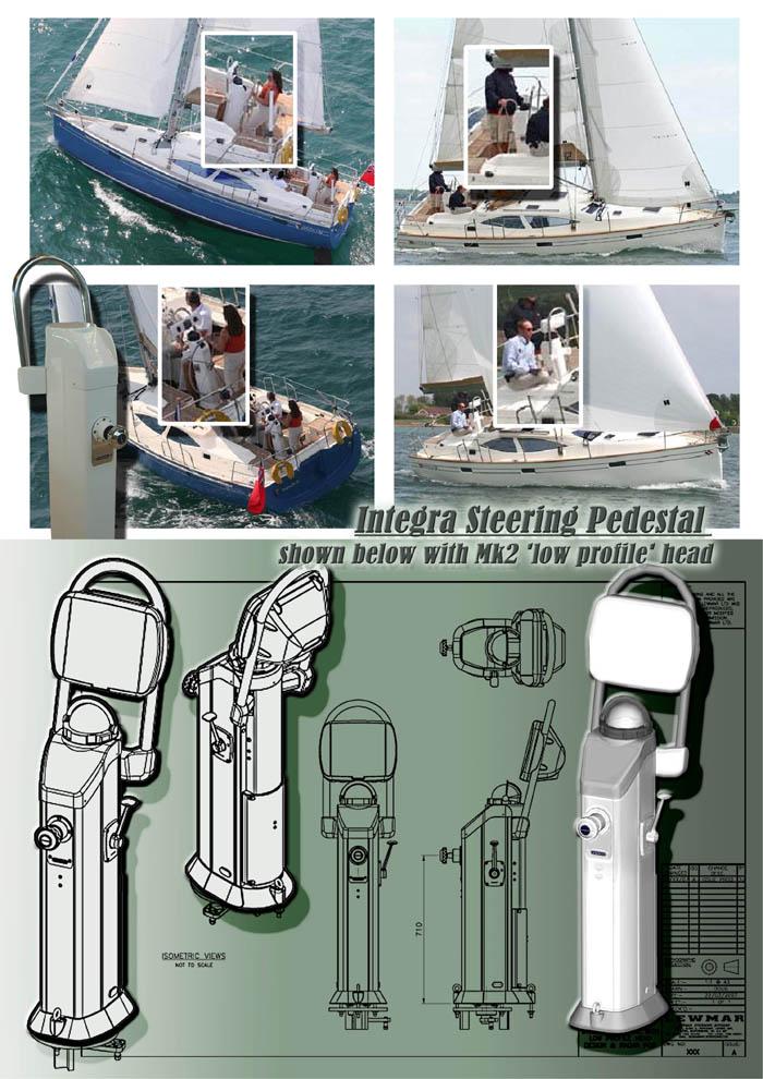Lewmar Integra Yacht Steering System By Douglas Urquhart