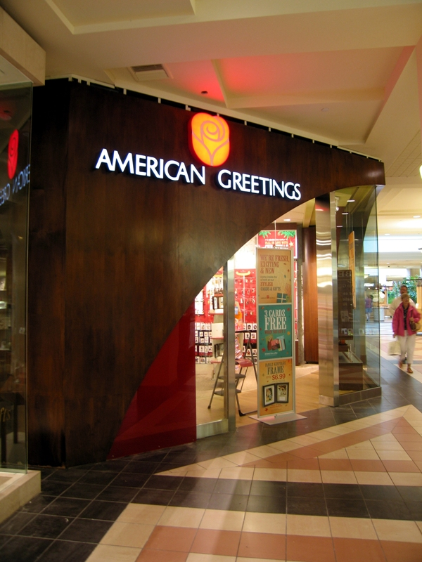 American greetings gallery store concept by elizabeth olson at gallery concept storefront under construction m4hsunfo