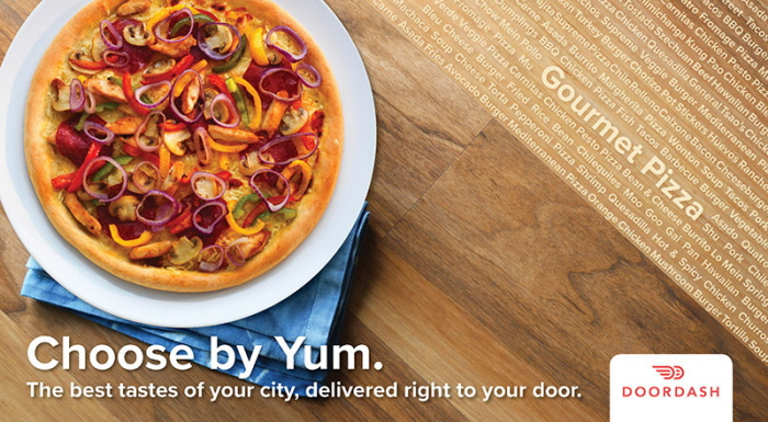 Direct Mail Campaign - Food Delivery App by Jamie Channell