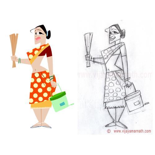 2d Character Design Books : Sketches by vijay amarnath at coroflot