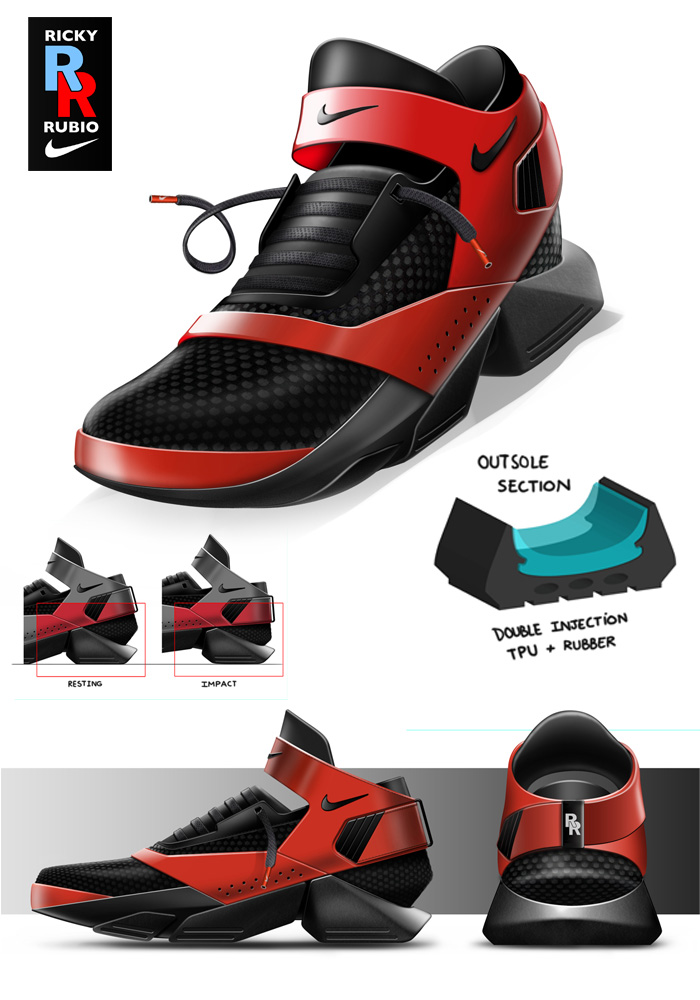 Ricky Rubio Shoes 2015