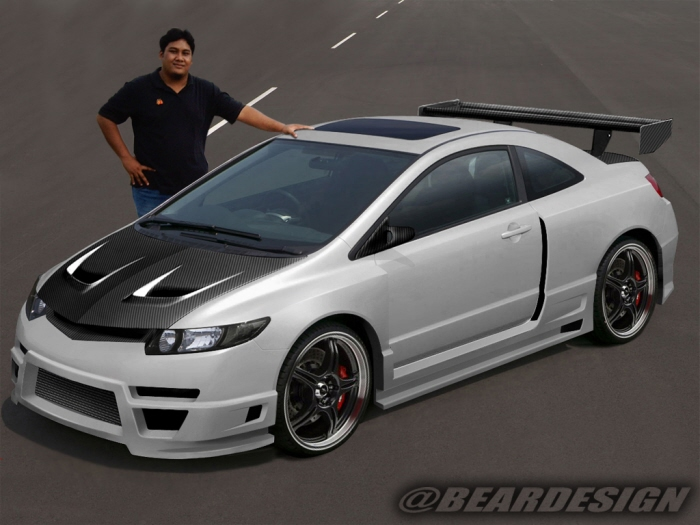 Virtual Modification + Bodykit Designs by Khairul Anwar