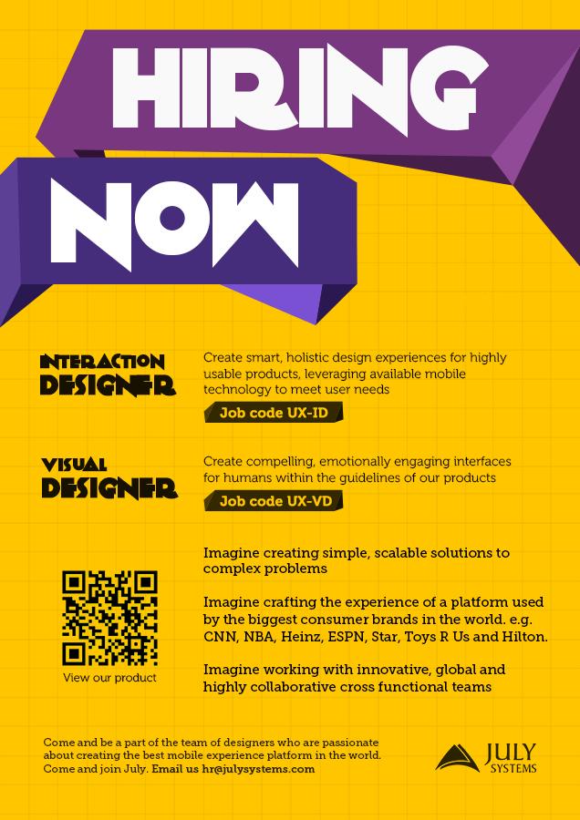32+ Sample Job Advertisement Poster Images