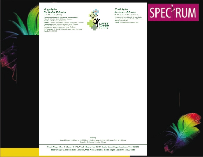 medical stationery by creativedap services at coroflot com