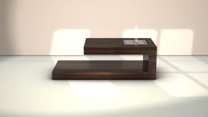 Fire Coffee Table By Axel Schaefer At Coroflotcom