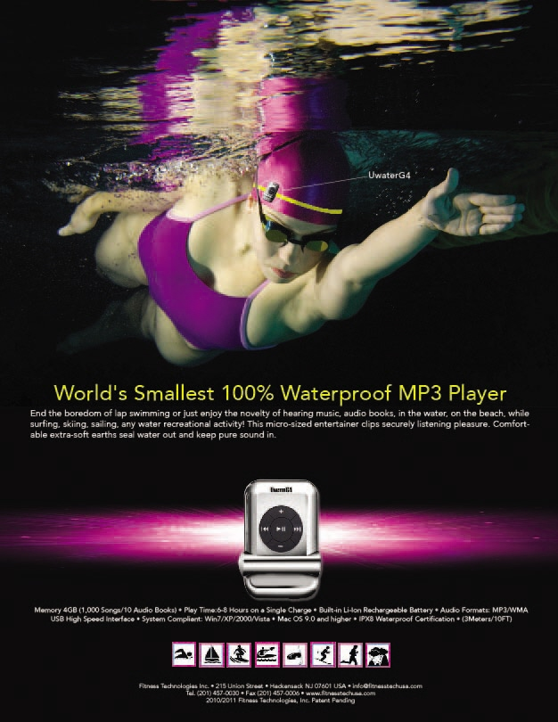 UWater MP3 Player Ad Campaign by Gabriel Garcia at Coroflot com