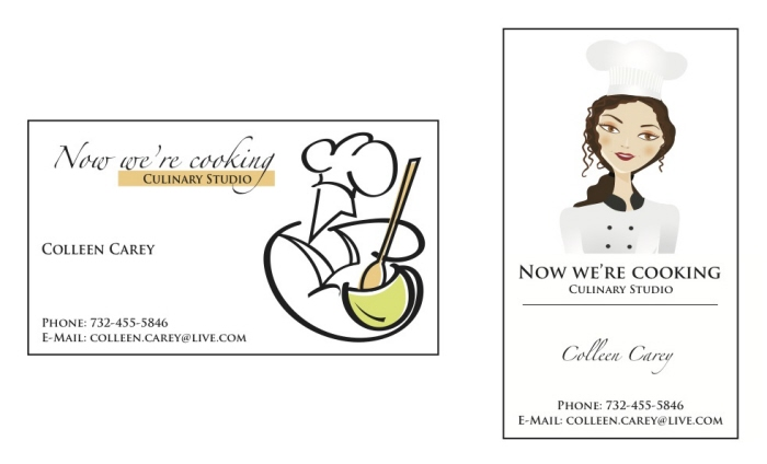 Now were cooking logo business cards 2 by gabriel garcia at now were cooking logo business cards 2 by gabriel garcia at coroflot reheart Gallery