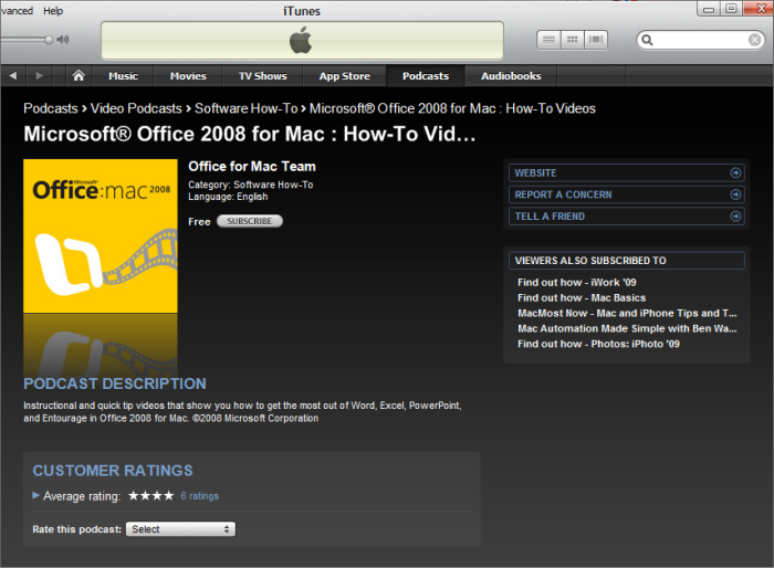 microsoft office for mac 2008 training tutorials and videos
