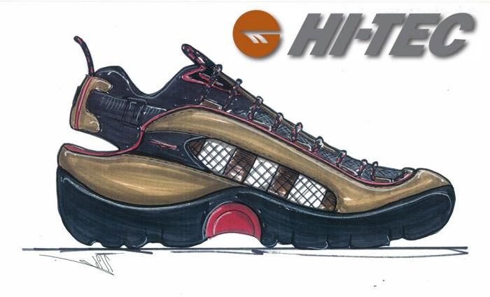 Hi-Tec Aqua Shoes by Wade Motawi at
