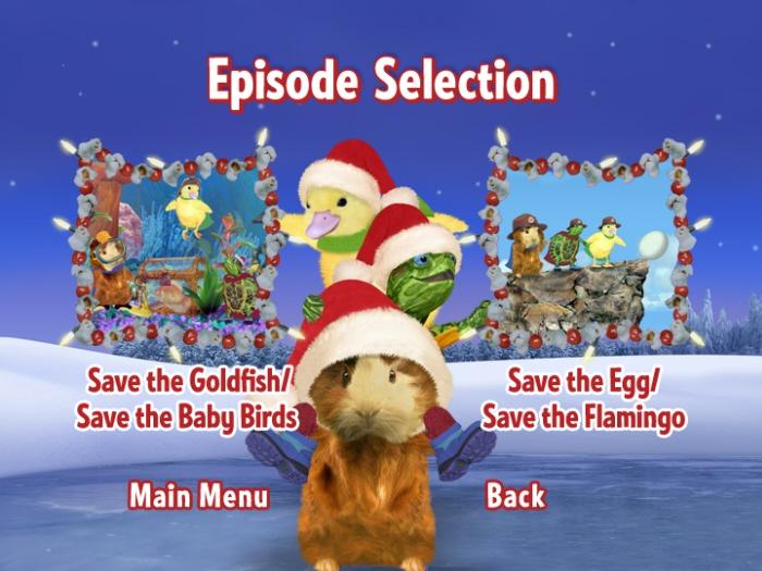 Wonder Pets Save The Reindeer Sd Dvd Menu Set By Michael