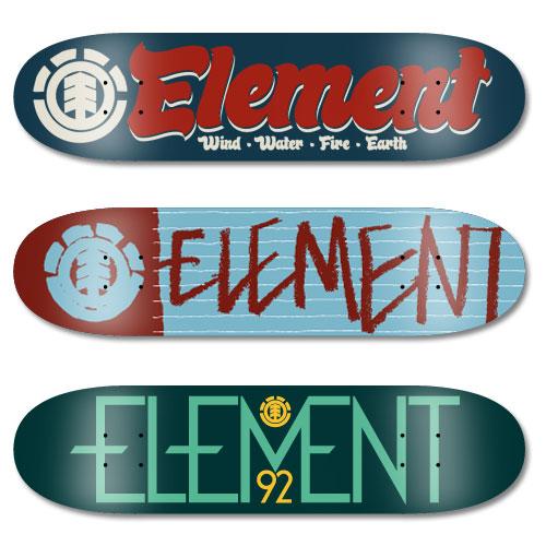 element skateboards deck designs by derek dudek at coroflotcom