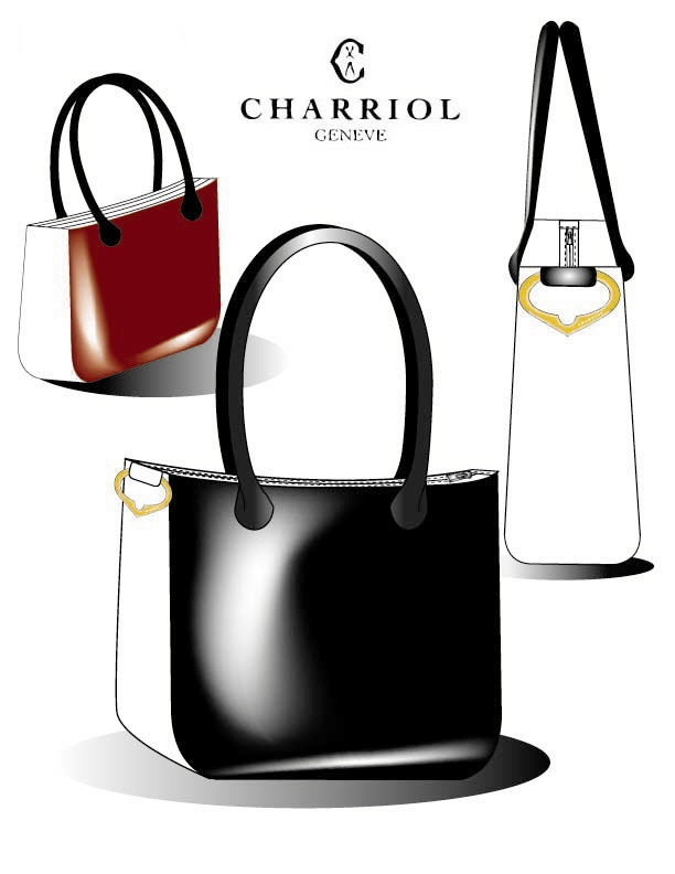 Charriol Handbag Design And Presentation Illustration For
