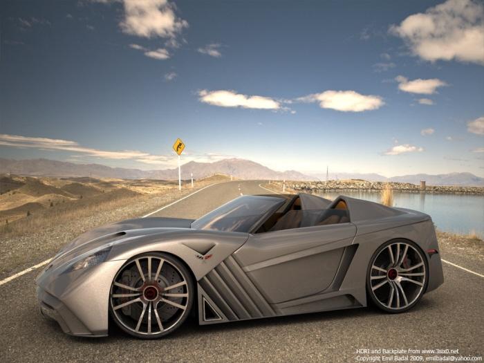Audi Woodland Hills >> Corvette Z10 Concept by Emil Baddal at Coroflot.com