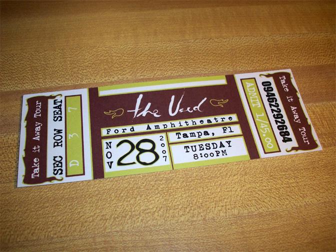 ticket design by daniel fogel at coroflot com