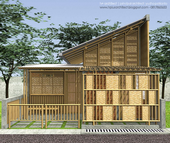 Nature Friendly Bamboo House Design: Bamboo House By Yudho
