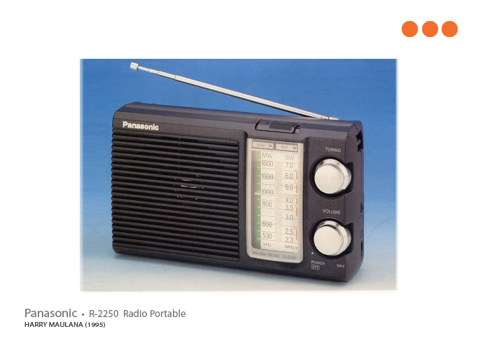 1995 Radio Portable By Harry Maulana At Coroflot Com