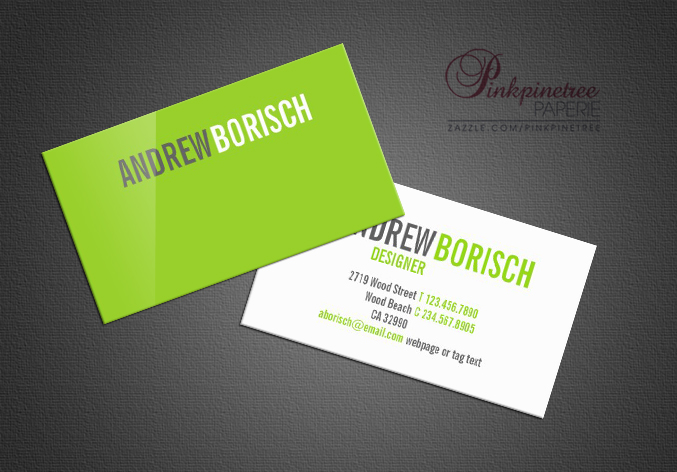 Business cards by natasa borenovic at coroflot modern white lime green business card template httpzazzlemodernwhitelimegreenbusinesscardtemplate 240091710815344259rf238159486447151366 reheart Gallery
