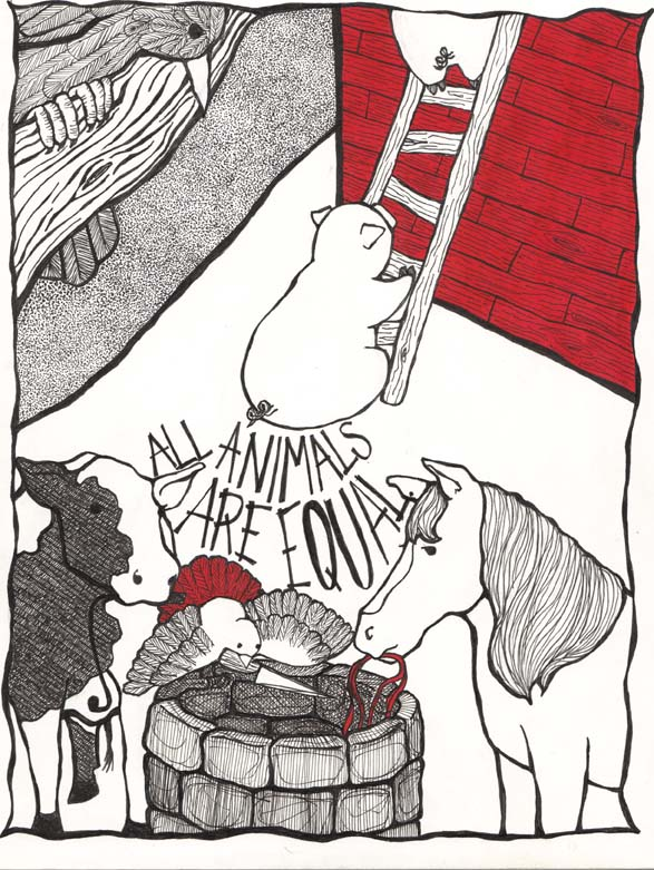 Animal Farm By Rachel Kugelman At Coroflot Com