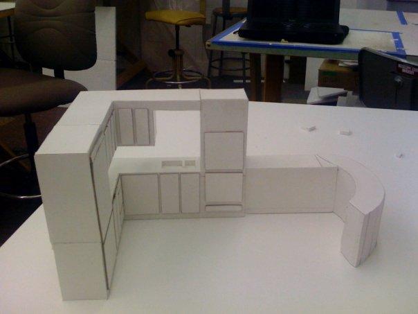 Studio 1 Foam Board Model By Robert Underwood At