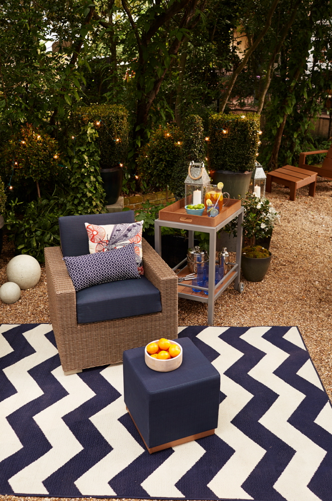 The Bryant Bar Cart Works Well Mixed With Any Of The Threshold Patio  Furniture Pieces And Accessories.