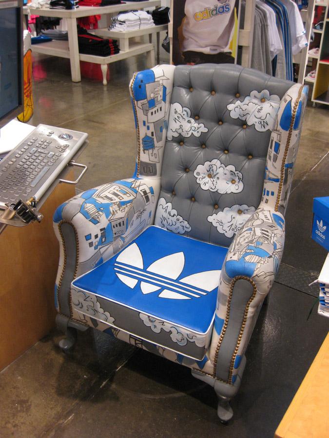 arroz Desesperado Formación  Adidas Originals Store in Soho NYC by Tedd Kim at Coroflot.com
