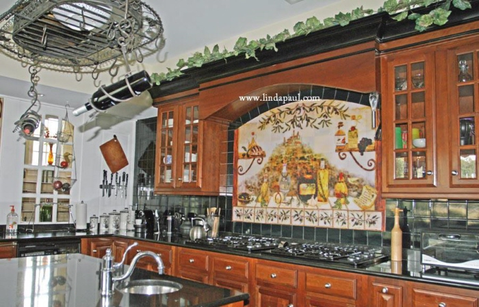 Kitchen Backsplash Mosacis and Tile Murals by Linda Paul ...