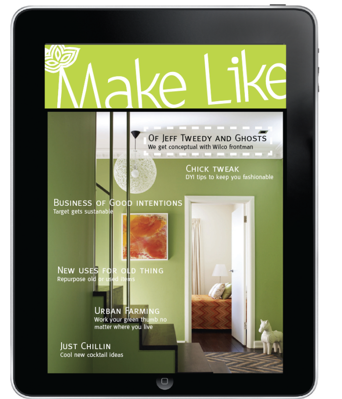Make like magazine by sherrie gonzalez at coroflot do it yourself magazine designed to be viewed on an ipad theres a built in navigation menu as well as options to view and download new issues solutioingenieria Choice Image