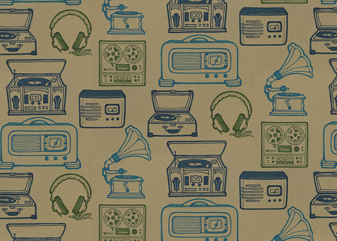 Audio Science Wallpaper By Natalie Fitzgerald At Coroflotcom