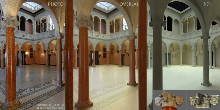 Interior Of Villa Ephrussi De Rothschild 3d Photogrammetry Example